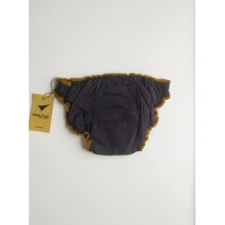 Black period panty heavy flow back view